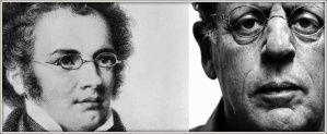 Philip Glass and Schubert's glasses