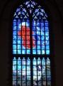 The Peace & Harmony window by Michel van Overbeeke (2009)