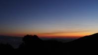 Sunset in Agios Lavrentios